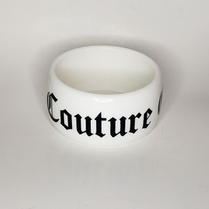Crazy couture white bracelet